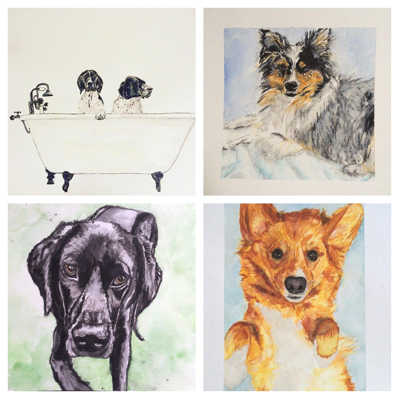 GUEST DOODLEWASH: Painting Pets