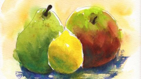 GUEST DOODLEWASH: Mixed Fruit