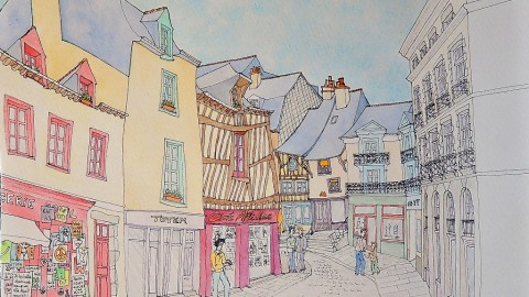 GUEST DOODLEWASH: Painting In Rennes