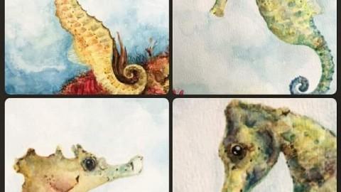 GUEST DOODLEWASH: The Magic of Watercolor
