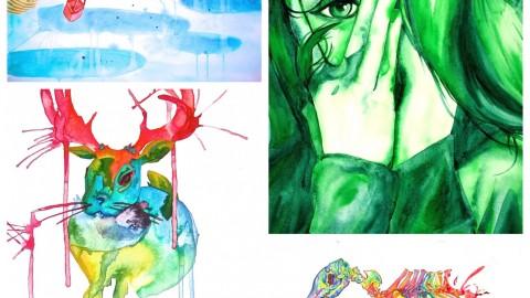 GUEST DOODLEWASH: Watercolor & Comics
