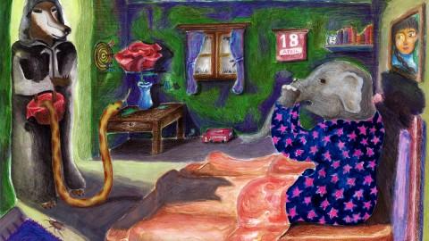 GUEST DOODLEWASH: Surrealism & Animals