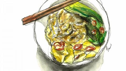 GUEST DOODLEWASH: Sketching Comfort Food