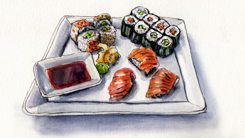Sushi Night – Best Foods Rolled Into One
