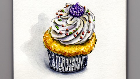 Cupcakes – A Tale of Tall Frosting
