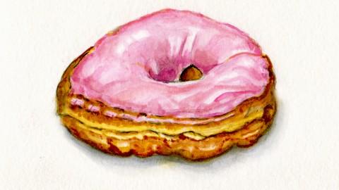 A Little Pink Donut