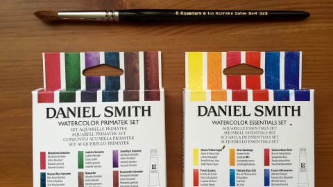 DOODLEWASH REVIEW: Daniel Smith Extra Fine Watercolors, Part I