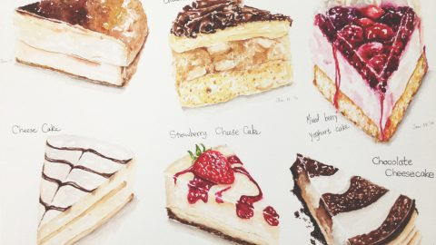 GUEST DOODLEWASH: Food Painting Lover