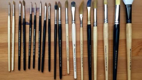DOODLEWASH REVIEW: Watercolor Brushes