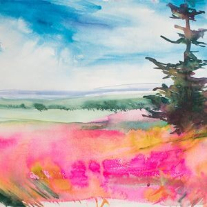 Watercolor Classes with Angela Fehr