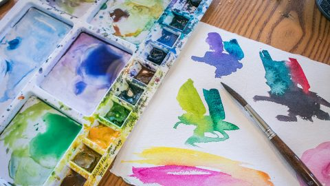 SPECIAL FEATURE: Creative Watercolour  Course – with Angela Fehr