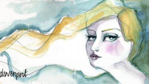 GUEST DOODLEWASH: Watercolour Is Beyond An Art Supply. It's Emotion On A Palette. by Jane Davenport