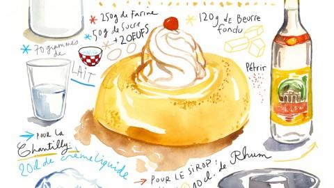 GUEST DOODLEWASH: Food Illustrations & Family Recipes