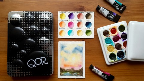DOODLEWASH REVIEW: QoR Watercolors