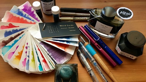 DOODLEWASH REVIEW- Inky Business! Pens and Ink for Artistic Applications