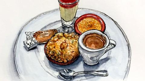 J'Adore Le Café Gourmand