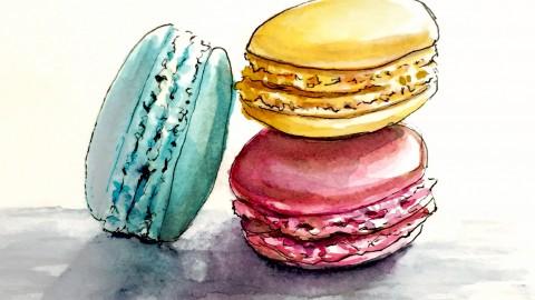 Macarons Et Souvenirs Heureux