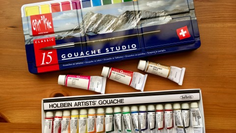 DOODLEWASH REVIEW: Oh My Gouache!