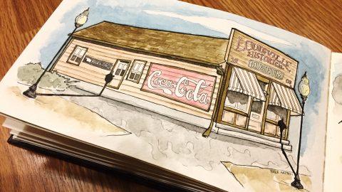 GUEST DOODLEWASH: Sketching Memories