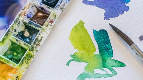 Creative Watercolour Course by Angela Fehr – We Have a WINNER!