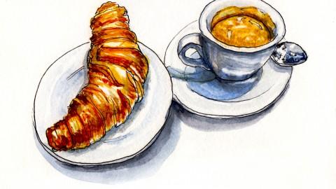 Croissant & Espresso