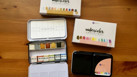 DOODLEWASH REVIEW: Prima Watercolor Confections Sets