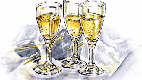 Champagne Toast – Happy New Year!