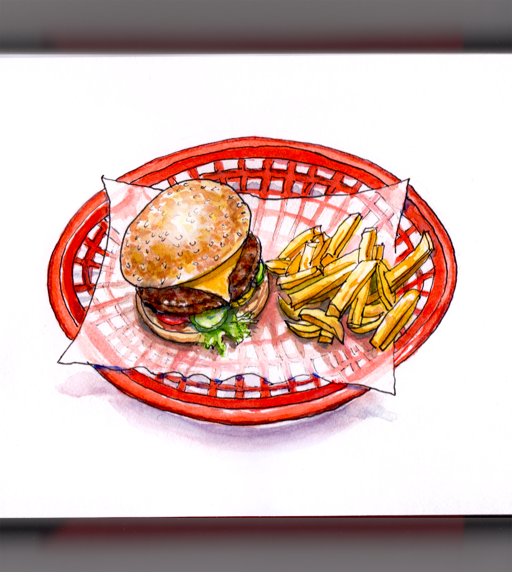 A Burger & Fries