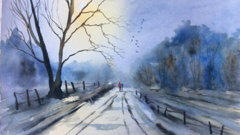GUEST DOODLEWASH: Memories In Watercolour