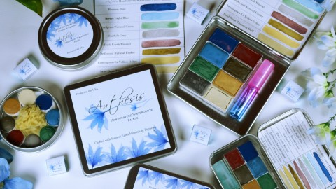 DOODLEWASH REVIEW: Anthesis Arts Handcrafted Watercolors