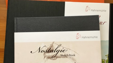 DOODLEWASH REVIEW: Hahnemühle Sketchbooks & Paper