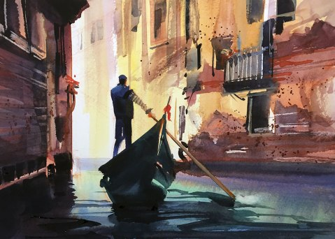 GUEST ARTIST: Why Watercolor? by Joe Cibere