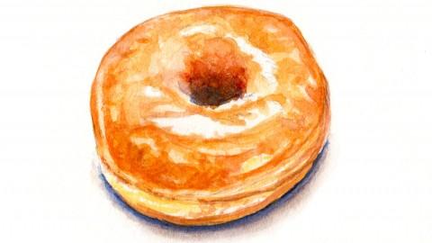 A Simple Glazed Donut