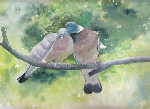 GUEST ARTIST: From Little Acorns… Or Empty Nest Syndrome