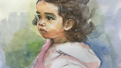 GUEST ARTIST: Watercolour Portraits