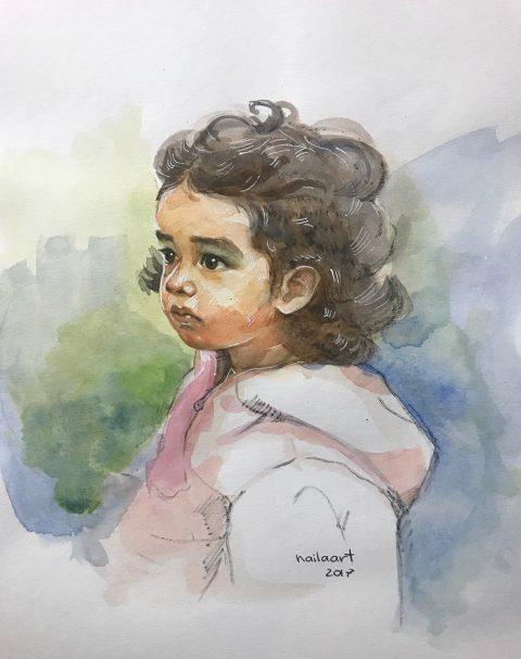 GUEST ARTIST: Watercolour Portraits