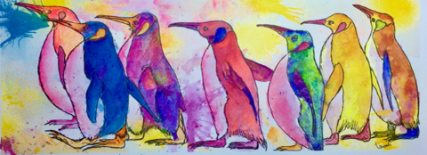 GUEST ARTIST: Vibrant Watercolours Inspired By Festivals Of India