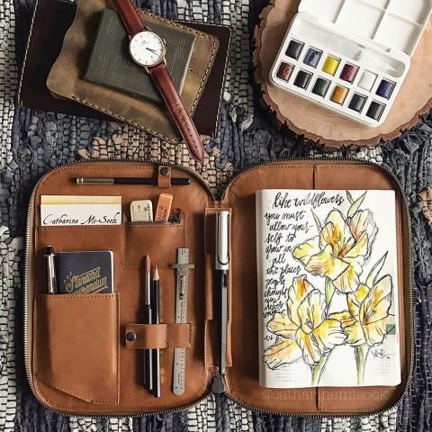 GUEST ARTIST: Palettes & Pencils & Pens, Oh My!