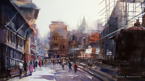 GUEST ARTIST: The Journey Of Ekaraj's Watercolor