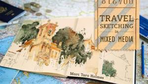 Travel Sketching in Mixed Media with Marc Taro Holmes