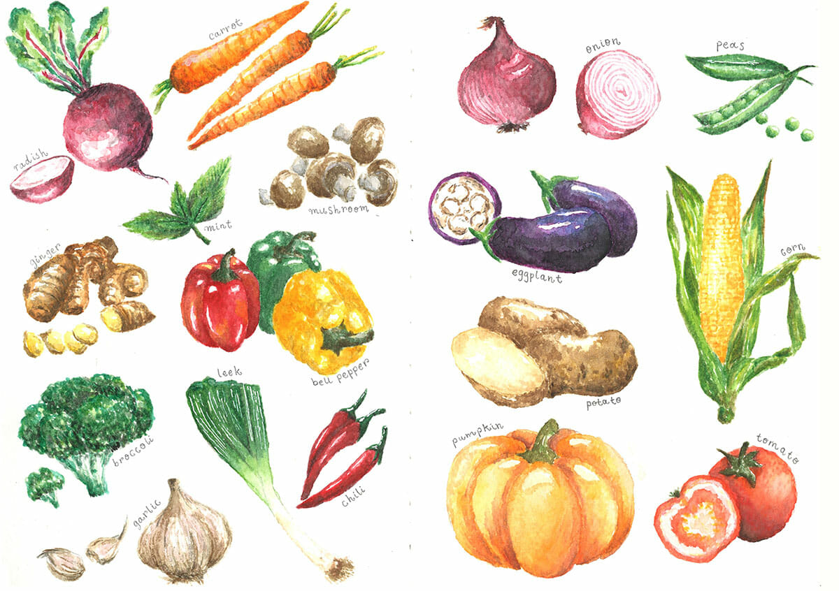 """GUEST ARTIST: """"My Insatiable Appetite for Watercolor"""" by Yee Leng"""