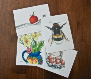 Set of 4 Limited Edition Print Postcards