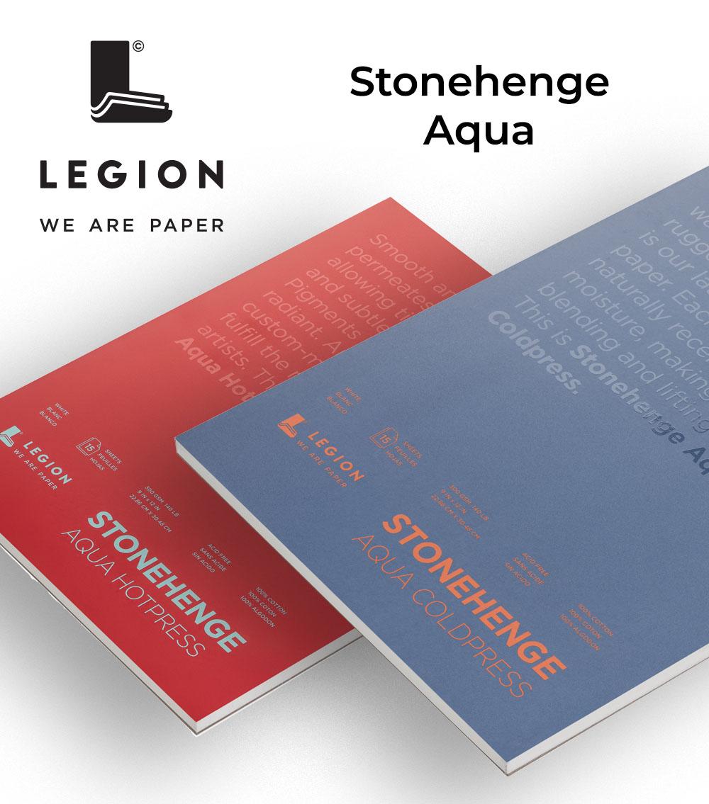 Legion Paper Stonehenge Aqua World Watercolor Month Giveaway!