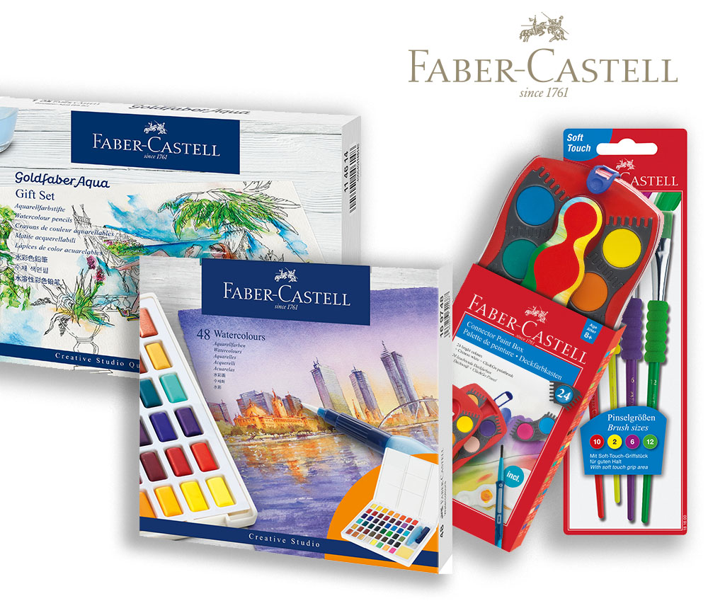 Faber-Castell World Watercolor Month 10 Giveaway #10!